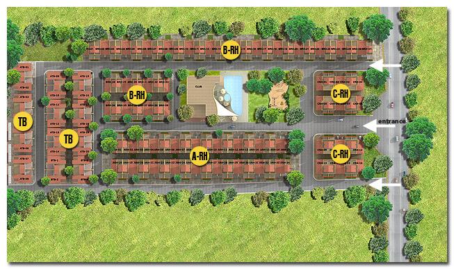 Vini Park - Zen for Life - Site Plan